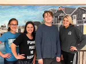 Northwest High School published authors for 2018-19